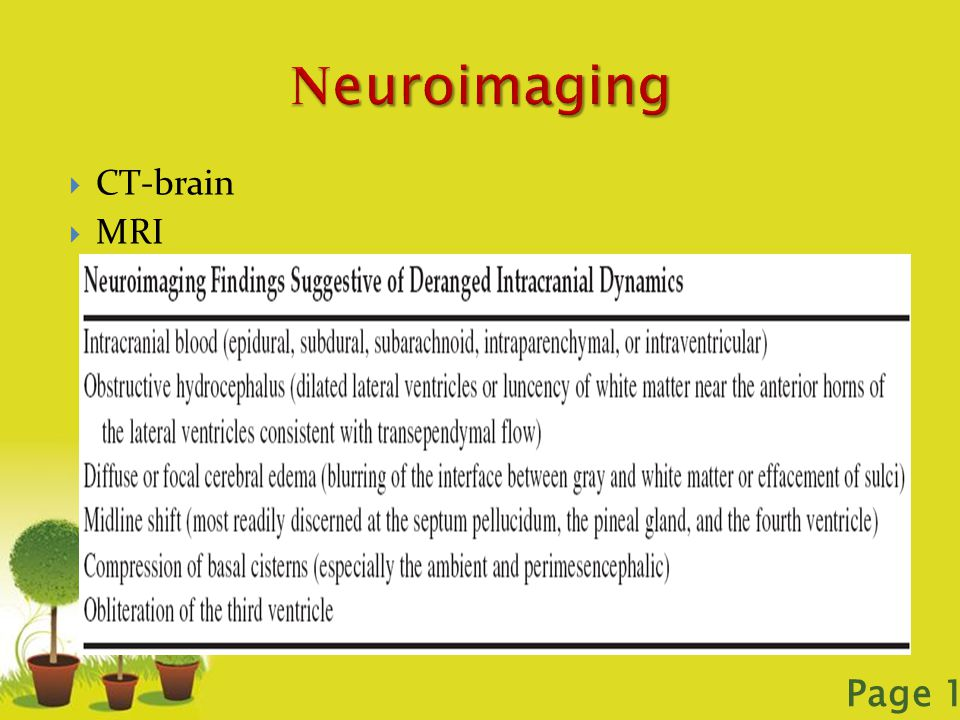 Powerpoint Templates Page 17  CT-brain  MRI