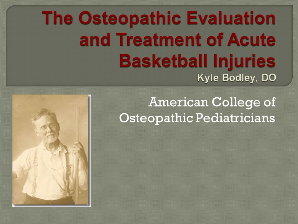 American College of Osteopathic Pediatricians