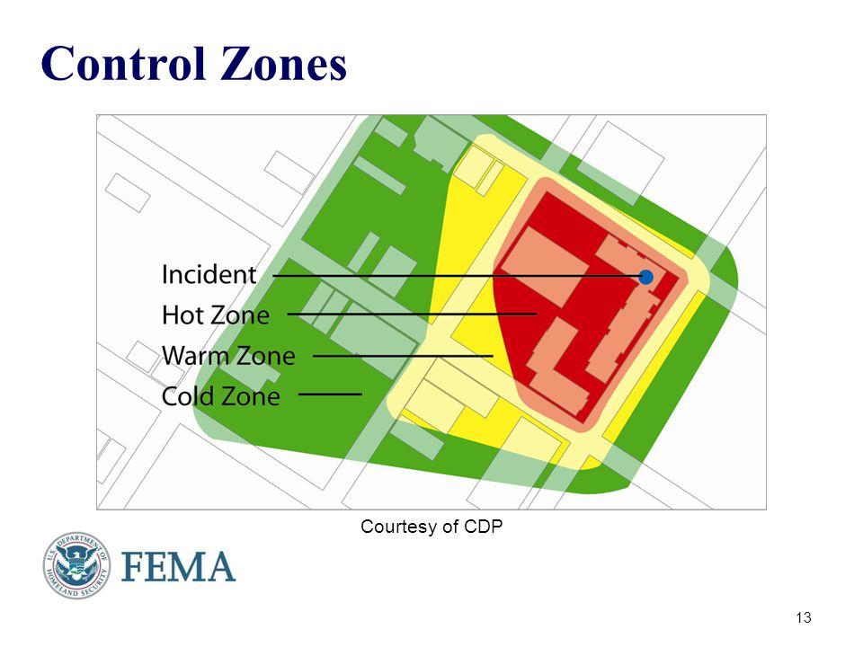Control Zones 13 Courtesy of CDP