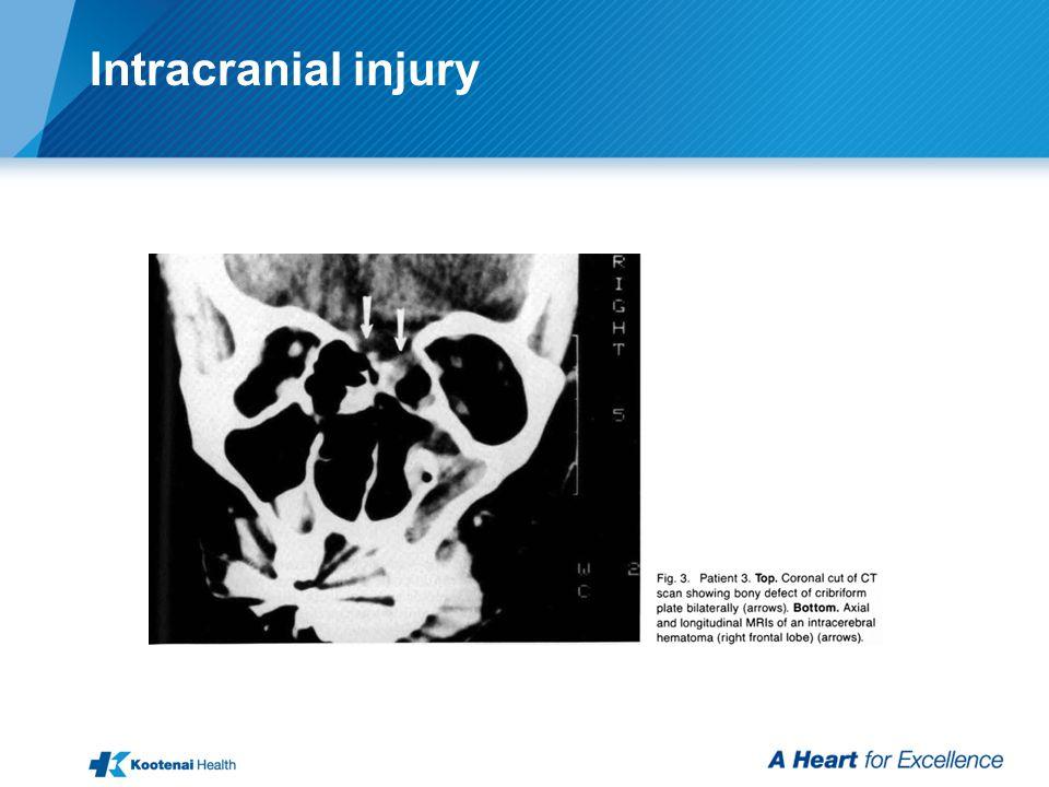Intracranial injury