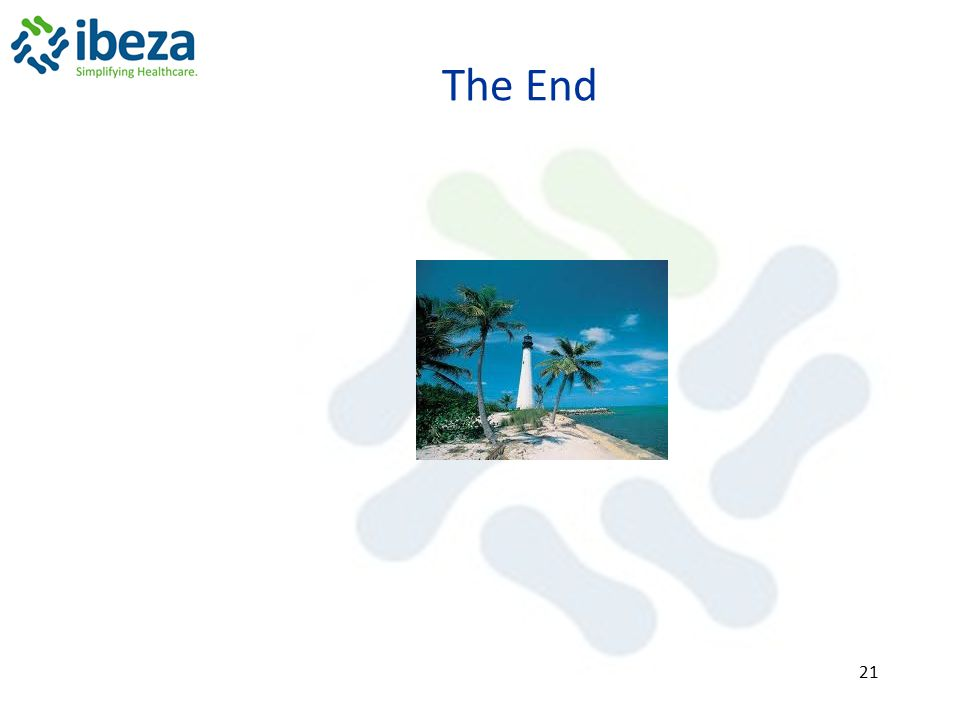 The End 21