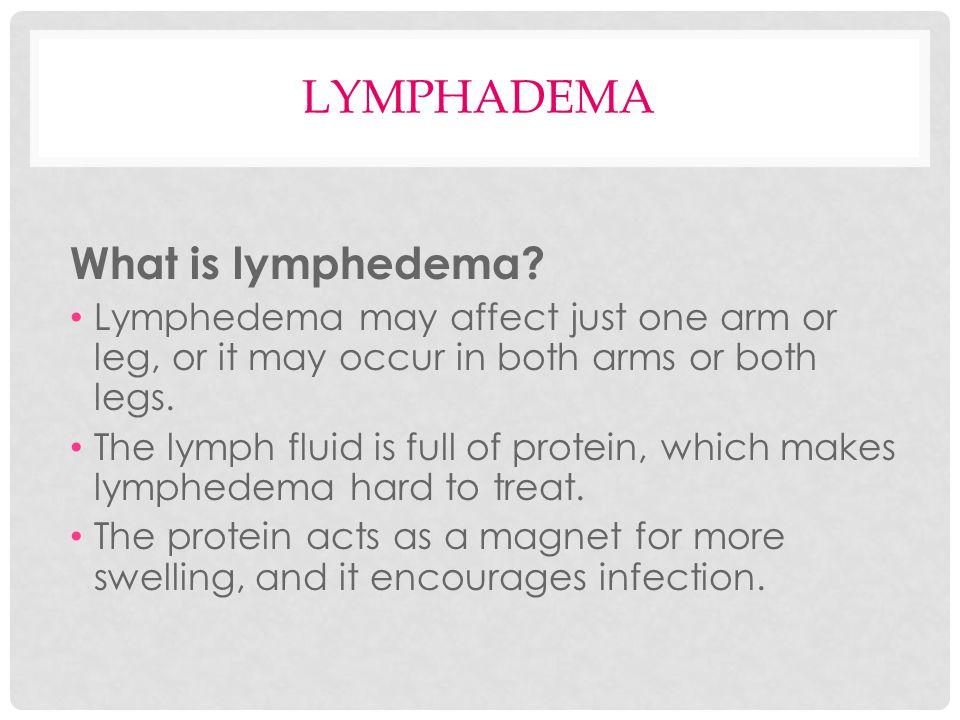LYMPHADEMA PREVENTION Avoid harsh detergents or deodorants.