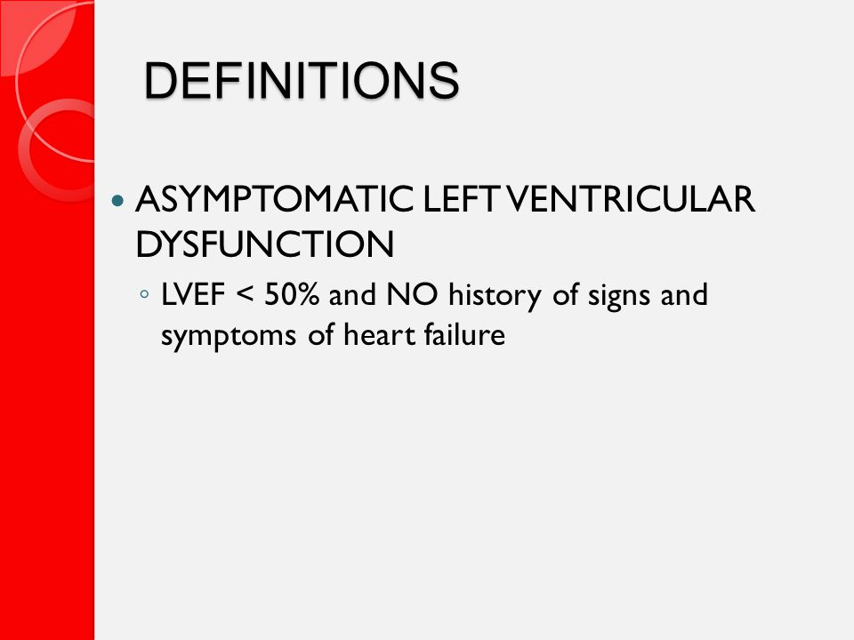 ANSWER The combination should be used in HFrEF patients unable to tolerate ACEI and ARB due to drug intolerance, hyperkalemia, renal insufficiency, or hypotension.