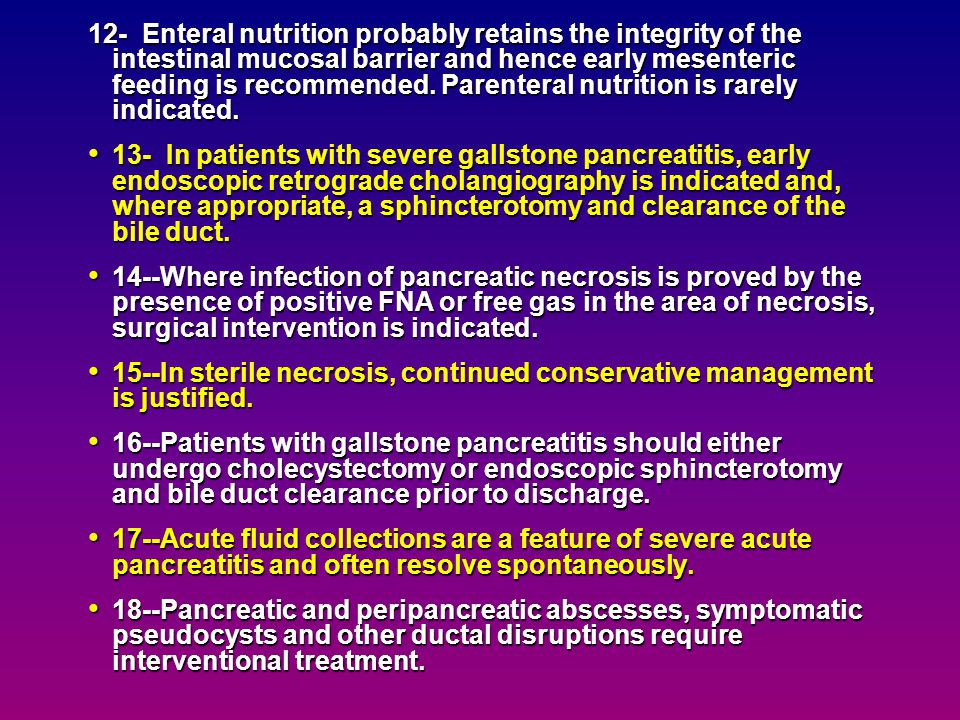 6-Acute pancreatitis, severity best defined by failure of one or more organ systems and/or the Acute Physiology and Chronic Health Evaluation, (APACHE