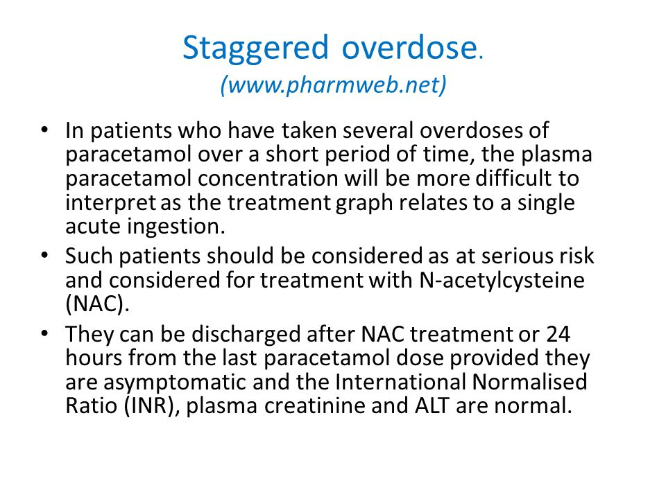 In patients who have taken several overdoses of paracetamol over a short period of time, the plasma paracetamol concentration will be more difficult t