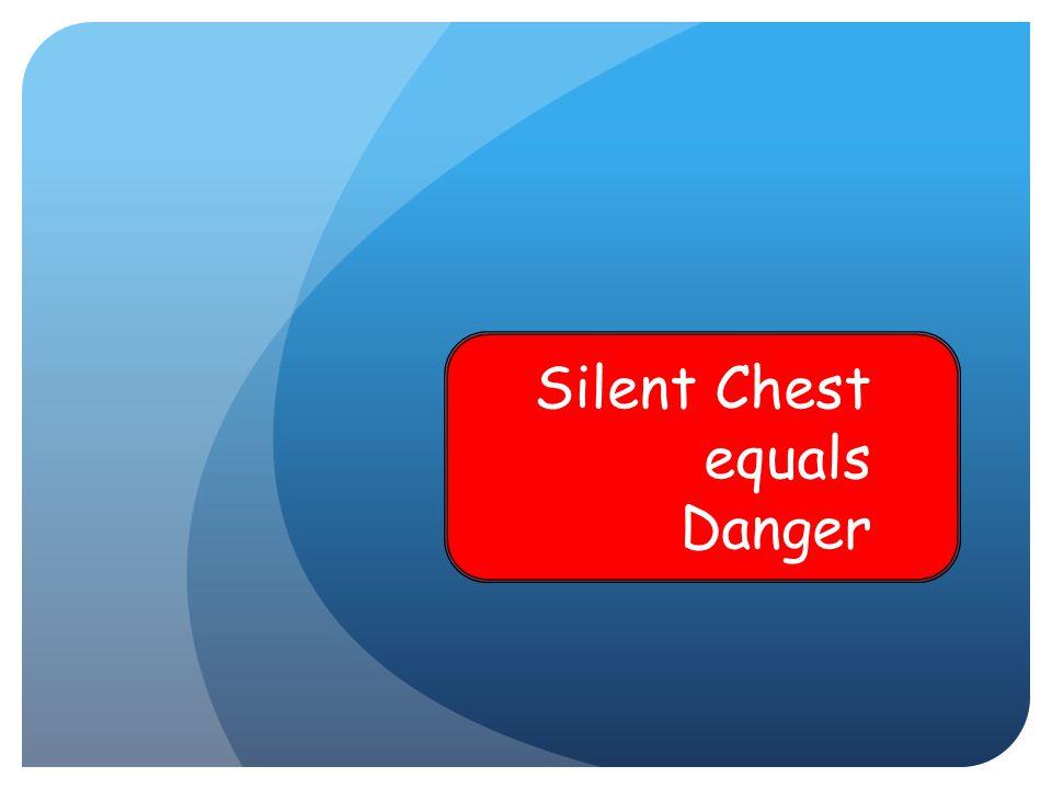 Silent Chest equals Danger