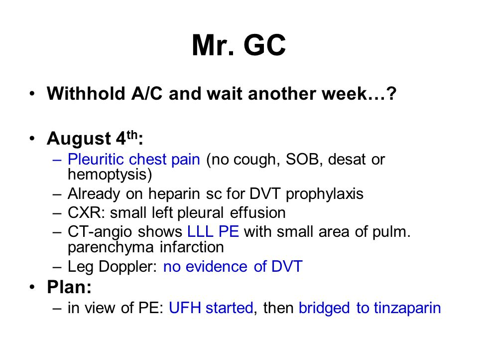 Mr.GC Withhold A/C and wait another week….