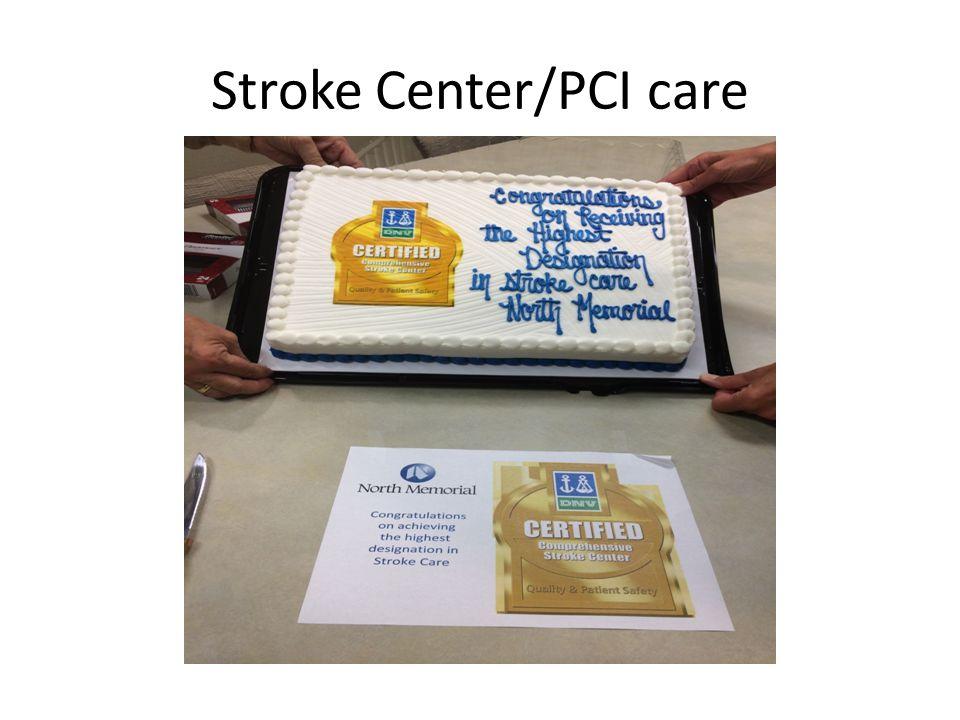 Stroke Center/PCI care