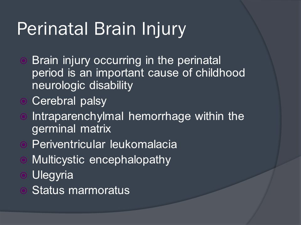 Trauma  Skull fractures  Parenchymal Injuries  Traumatic Vascular Injury  Sequelae of brain tumors  Spinal cord Trauma – level of lesion determines extent of neurologic manifestation
