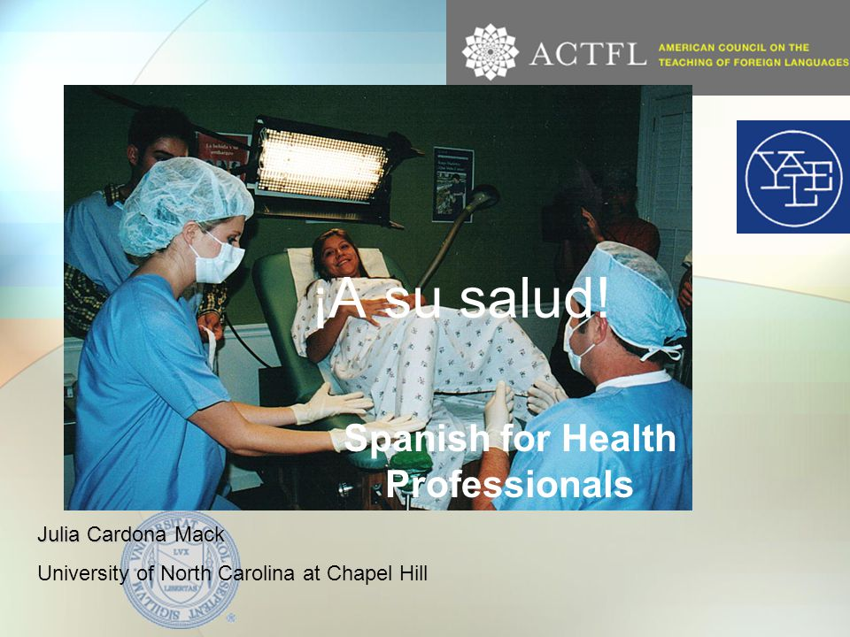 The history of this project North Carolina's Hispanic population Explosion 1990-2000 UNC Chapel Hill's Health programs and community response SALUD Inter-disciplinary team Office of the Provost FIPSE