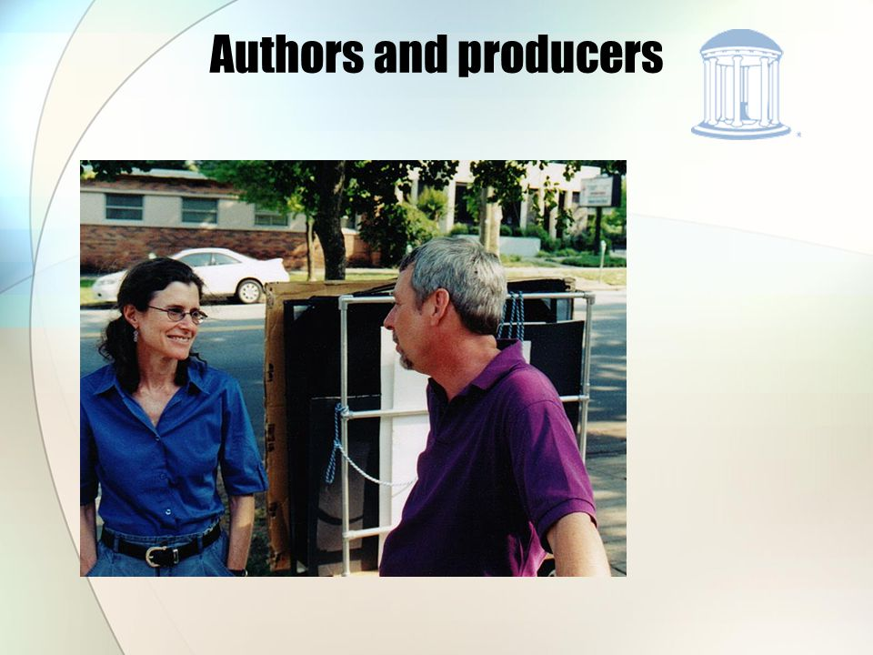 Authors and producers