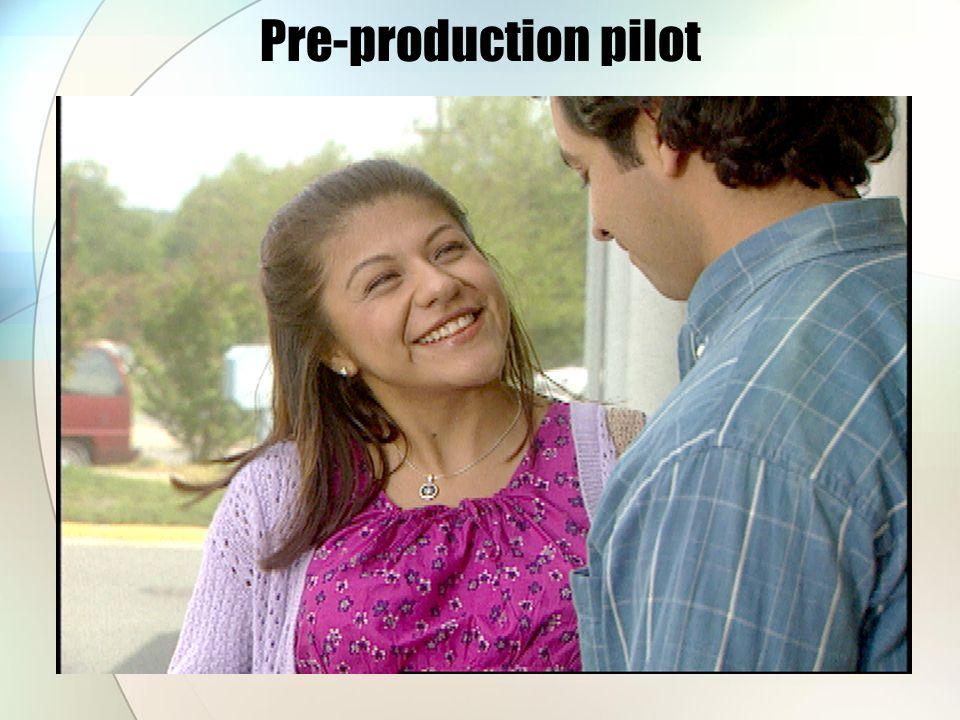 Pre-production pilot