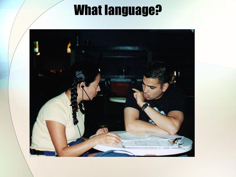 What language