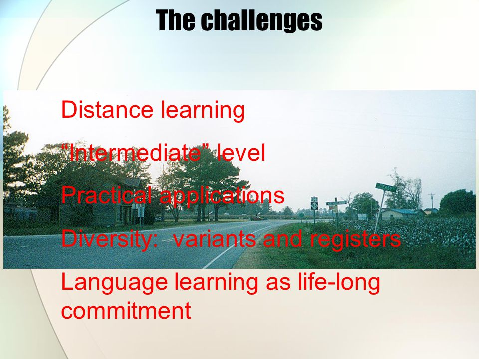 my plan Within each unit, the study of language will progress as follows: a.