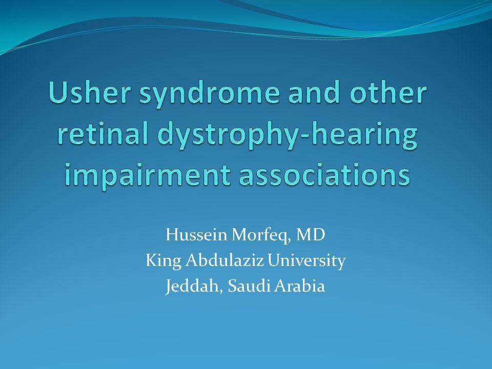 Hussein Morfeq, MD King Abdulaziz University Jeddah, Saudi Arabia