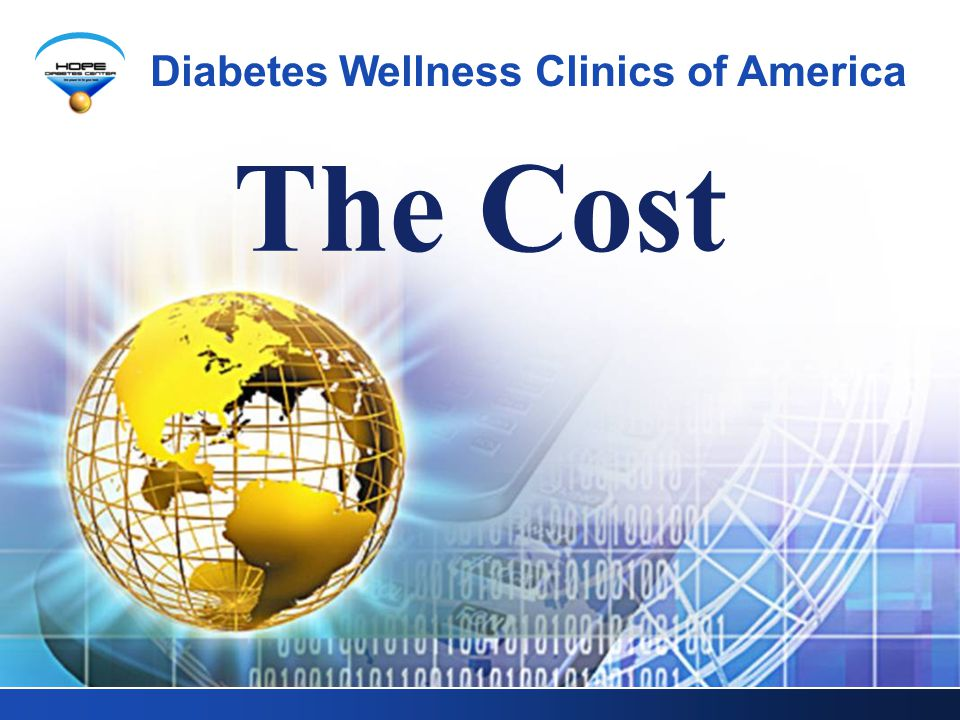 The Cost Diabetes Wellness Clinics of America