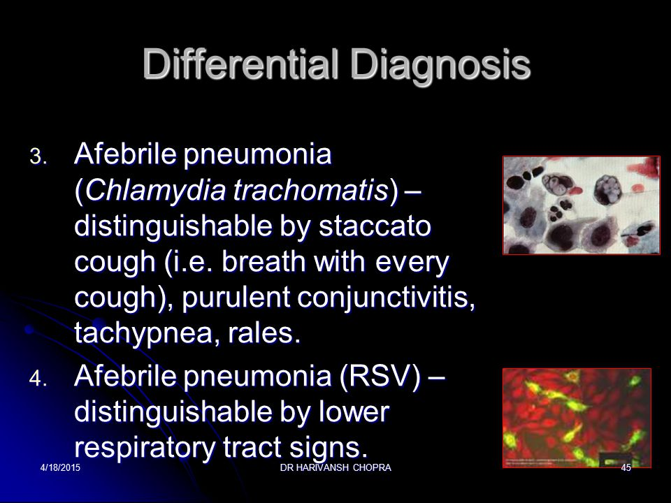 Differential Diagnosis 1.