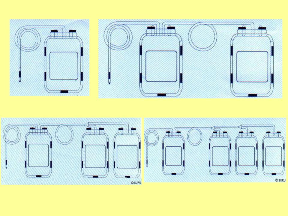 Coagulation & Preservers Citrate 24 hours 1-6 ºC Heparin 48 hours 1-6 ºC ACD or CPD 21 days 1-6 ºC CPD-A135 days 1-6 ºC CPD-A1+ additive 42 days 1-6 ºC AS-1 Additives AS-3 AS-5