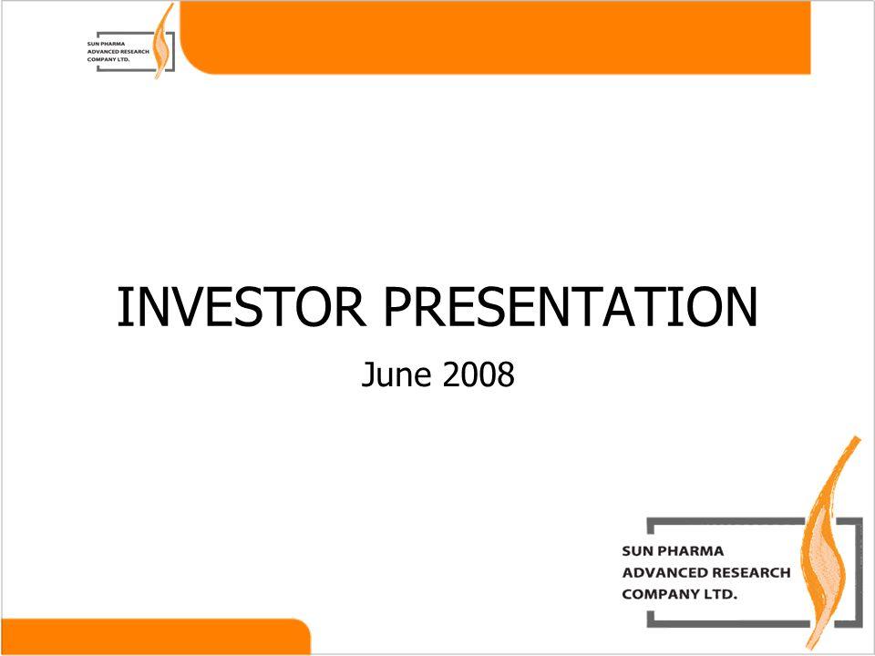 June 2008 INVESTOR PRESENTATION