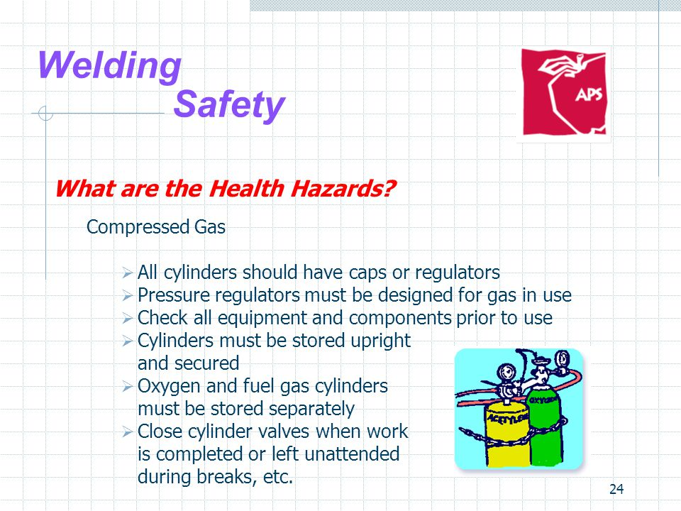 24 Welding Safety What are the Health Hazards.