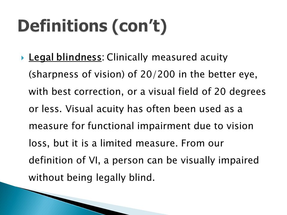 Person with normal vision Credit: National Eye Institute, National Institutes of Health Ref#:EDS01 Person with Glaucoma Credit: National Eye Institute, National Institutes of Health Ref#: EDS02