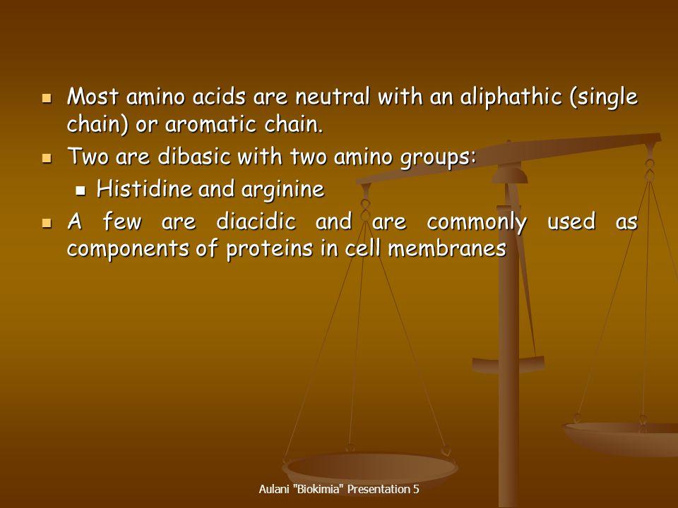 Aulani Biokimia Presentation 5 Nonessential Amino Acids