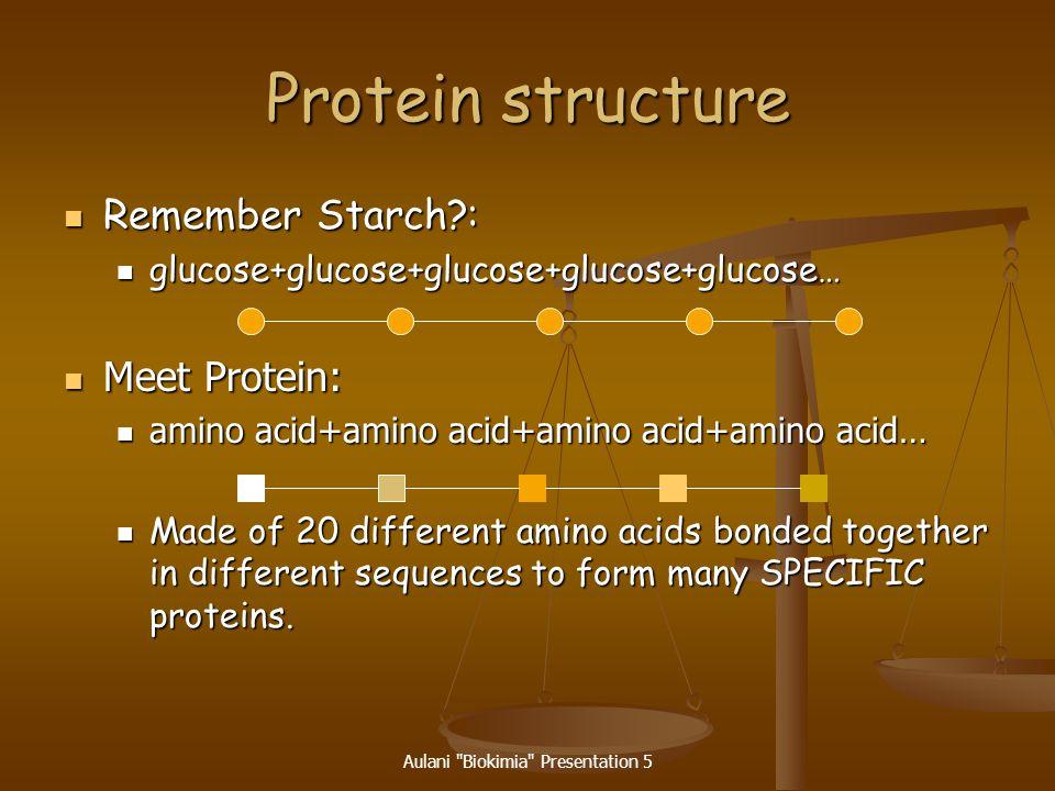 Aulani Biokimia Presentation 5 A Tripeptide consists of three amino acids linked together.