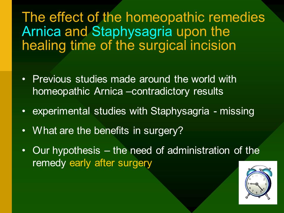 Conclusions (2/4) Homeopatic Nux Vomica CH7 was significantly more efficient than Diazepam in delaying and even preventing the convulsions in the experimental strychnine poisoning.