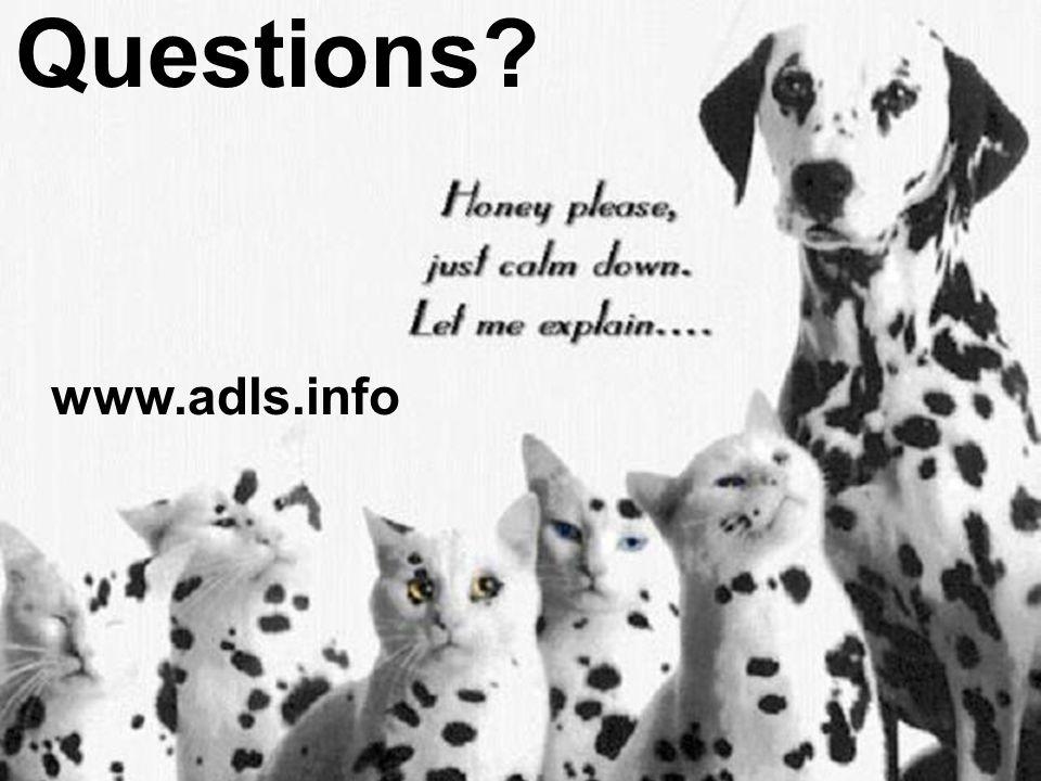 Phillip L. Coule, M.D.47 Questions? www.adls.info