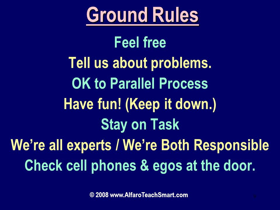 © 2008 www.AlfaroTeachSmart.com 89 Progress Worksheet 80/20 Rule