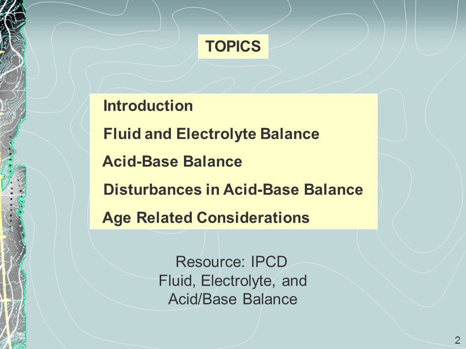 33 Acid – Base Balance (cont) Acidemia is a plasma pH < 7.35 resulting in acidosis.