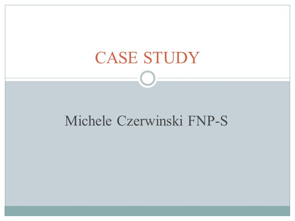 fnp case study See all nurse practitioner case studies case manager mr d, a 48-year-old african-american man who was diagnosed with type 2 diabetes (t2dm) 4 years ago, presented to his clinician for a.