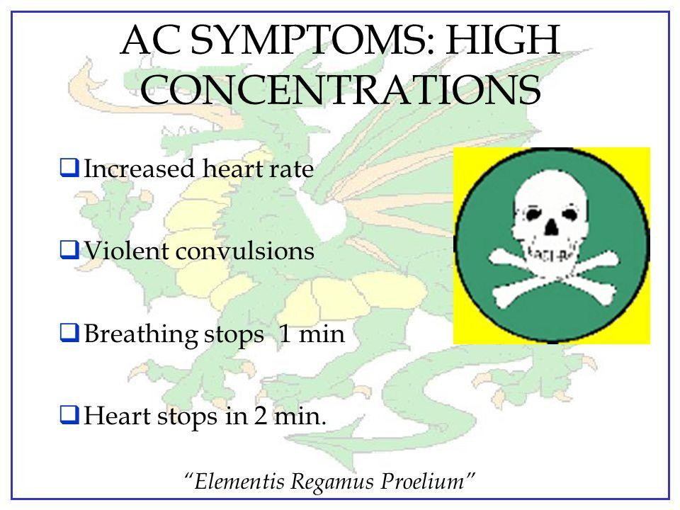 """Elementis Regamus Proelium""  Rate of Action…..Rapid. Death w/in 15 min.  Persistency…..Short. Dissipates quickly in air.  Use Designation: Quick a"