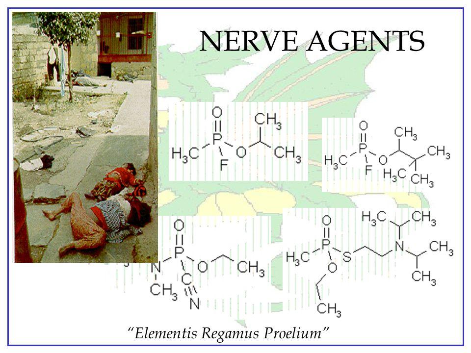 """Elementis Regamus Proelium"" URTICANTS Ô Rate of Action: – Immediate Ô Primary Hazards: – Eyes, nose & respiratory tract (vapors) – Skin (direct conta"