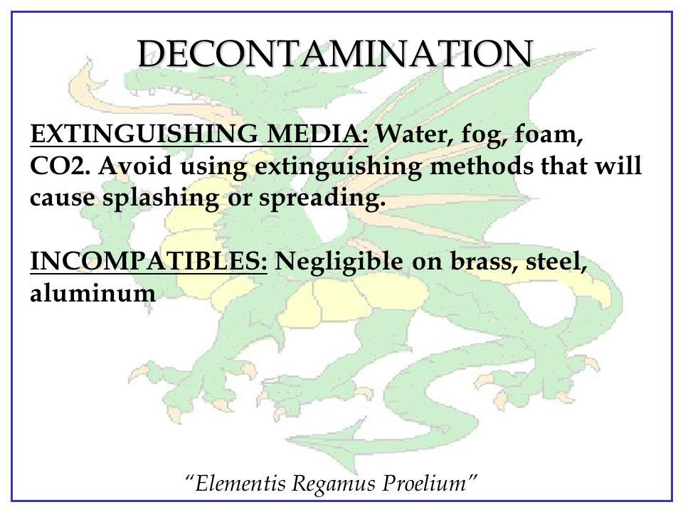 """Elementis Regamus Proelium"" DECONTAMINATION M291 Skin Decon Kit. Used for skin and equipment decontamination. Is non-toxic, eliminating the need for"
