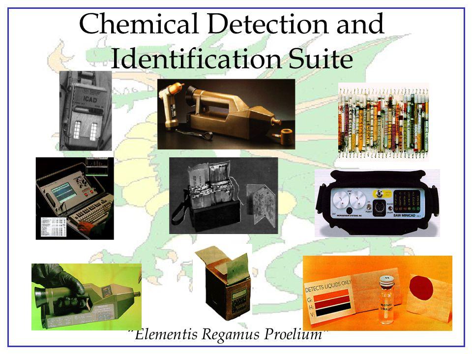 """Elementis Regamus Proelium"" Chemical Detection and Sample Collection"