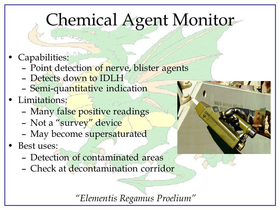 """Elementis Regamus Proelium"" Chemical Detection Instruments Hazardous chemical detectors - PID, FID, Multi-gas meter Chemical agent detectors -ICAM-AP"