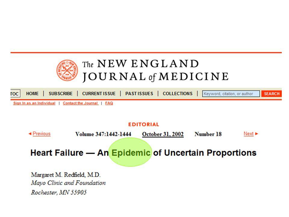 Mitral inflow patterns by Doppler Echocardiography Aurigemma, Gaasch. N Engl J Med 2004;351:1097
