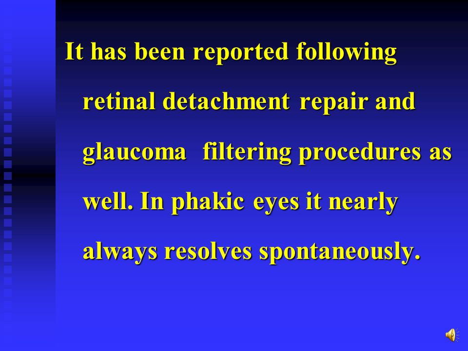 who have any degree of retinopathy have an increasd incodence of postcataract CME.