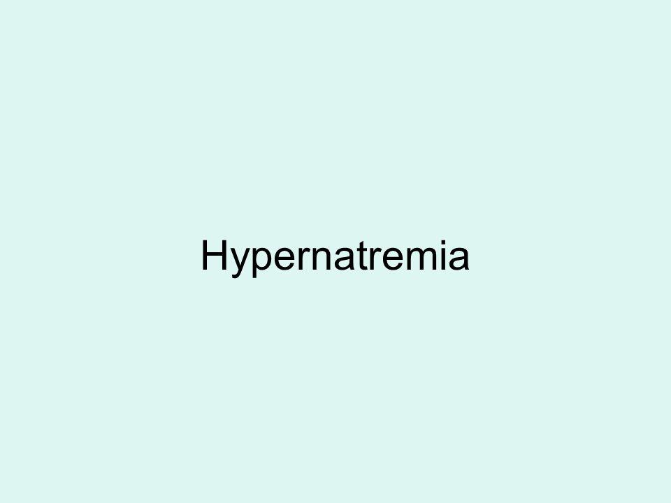 Hypernatremia