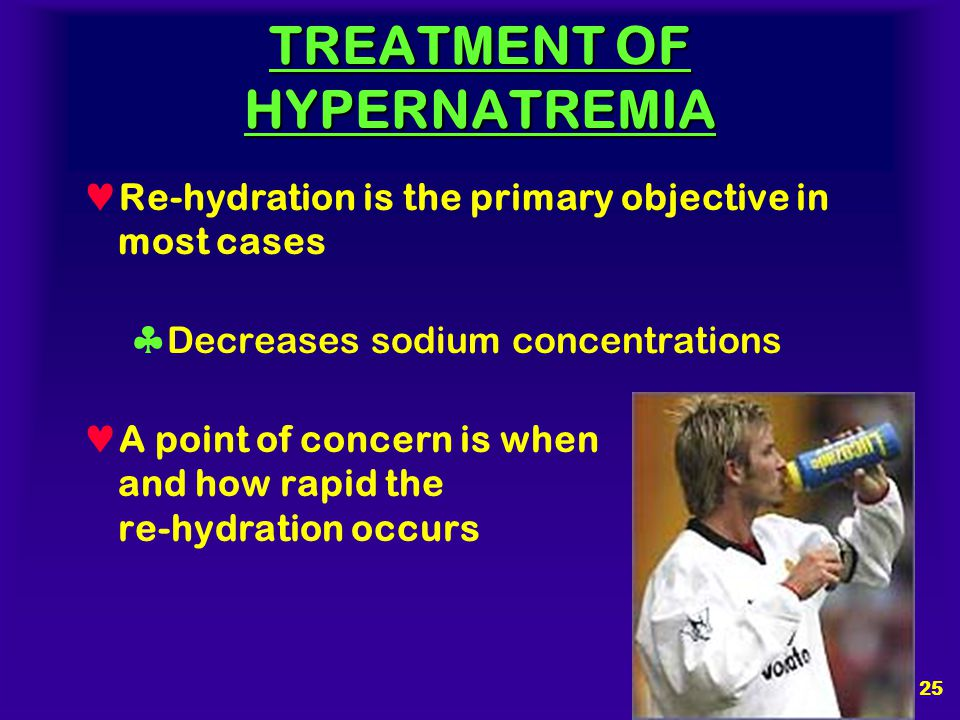 24 CAUSES OF HYPERNATREMIA