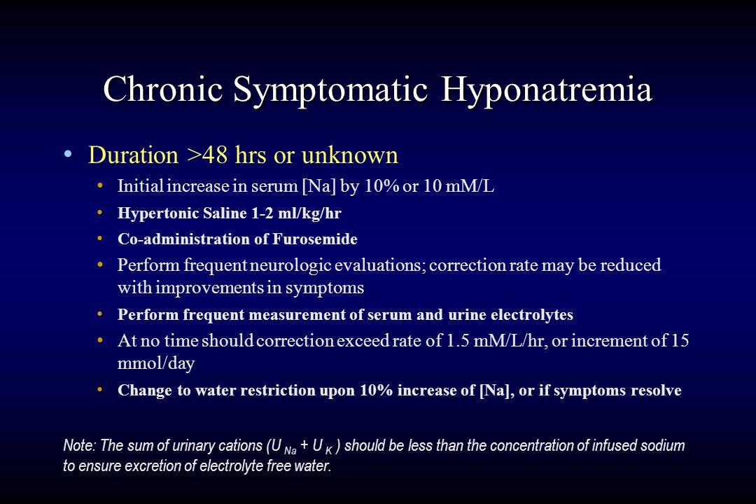 Cerebral Adaptation to Hyponatremia