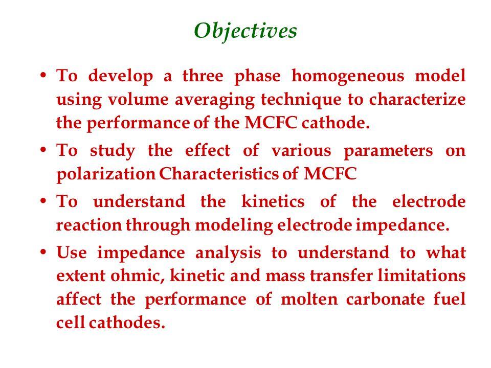 Previous Work Morita et al.- developed empirical equations for cathode resistances Makkus et al.