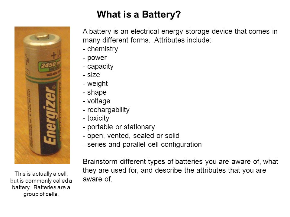 What is a Battery.
