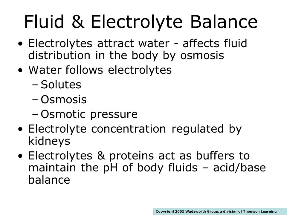 Water Dissolves Salts And Follows Electrolytes