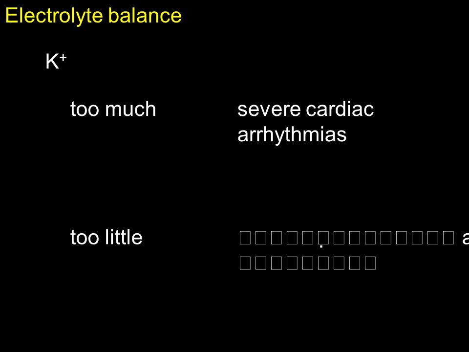 100 Keyspg.1007 Fluid balance and electrolyte balance are interrelated.