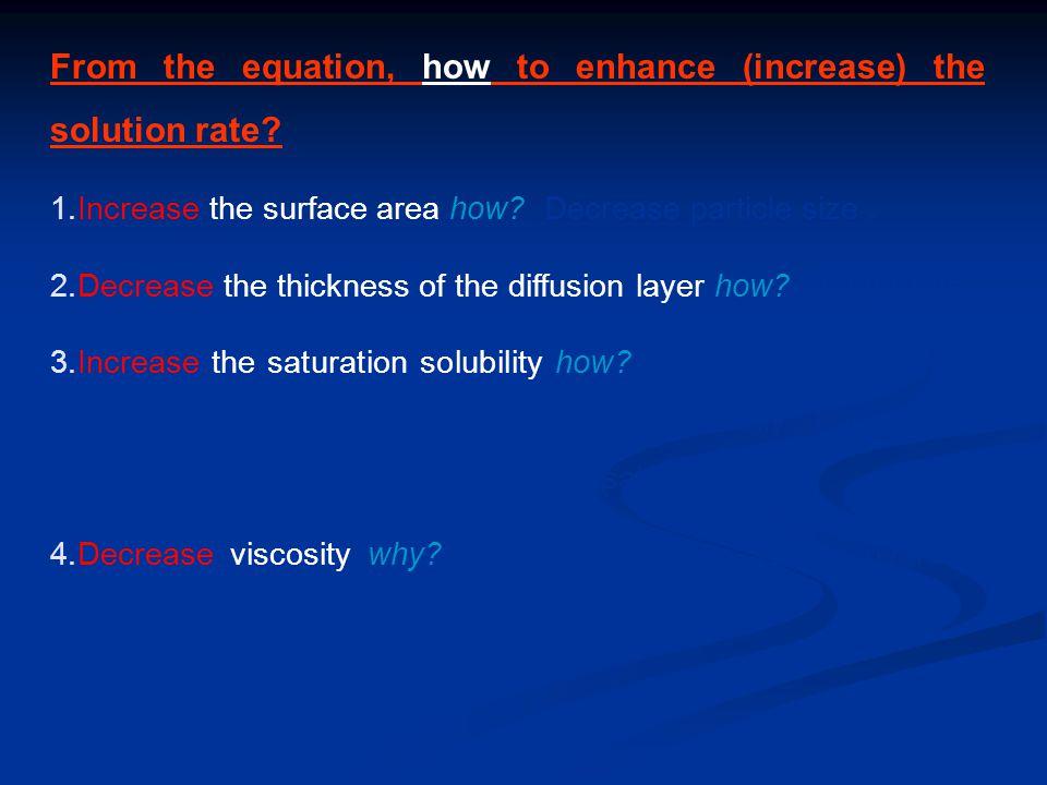 Prediction of Solubility:  Polar and weak polar solutes dissolve in polar solvents.