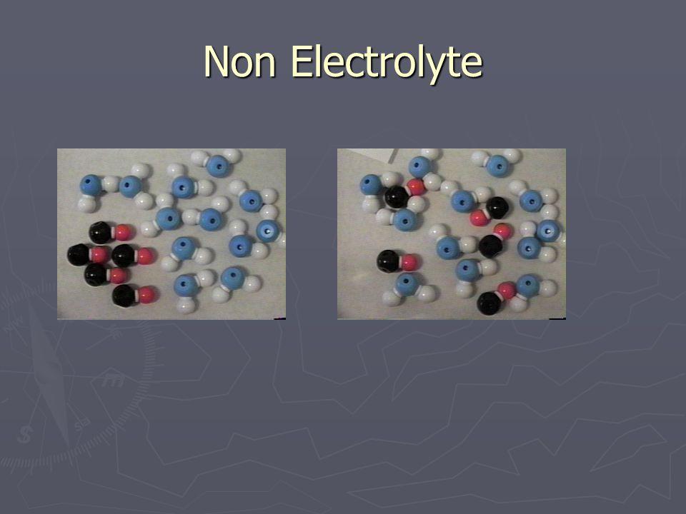 Non Electrolyte