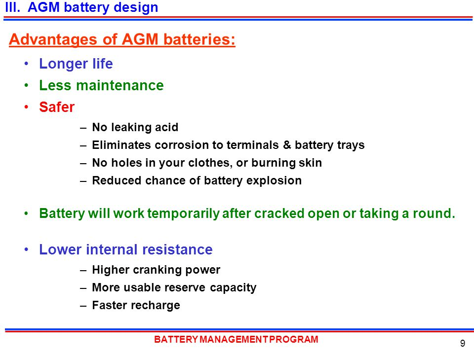 BATTERY MANAGEMENT PROGRAM 30 You found a dead or questionable battery, what's the next step.