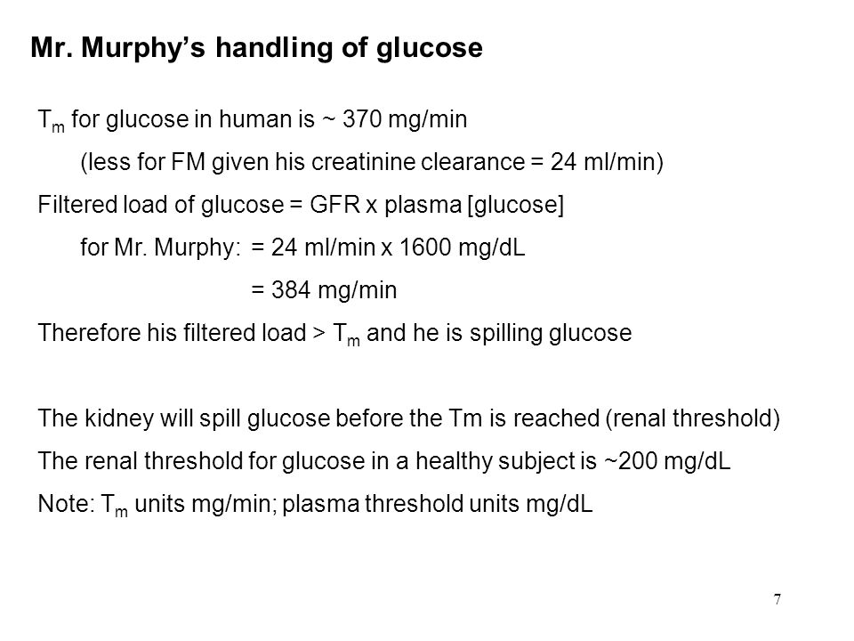 8 Topic list 1.Renal handling of glucose & keto-acids 2.